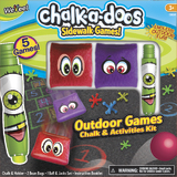 Chalk-a-Doos: Outdoor Games - Chalk & Activities Kit
