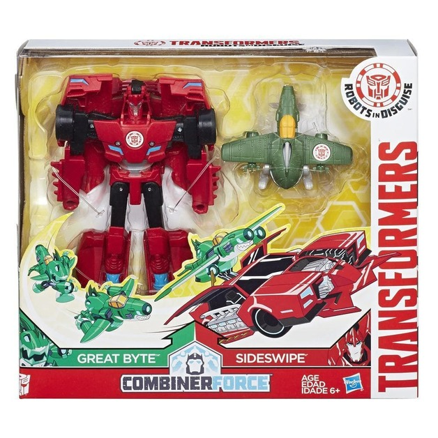 Transformers Robots In Disguise Activator Combiner Pack - Great Byte & Sideswipe