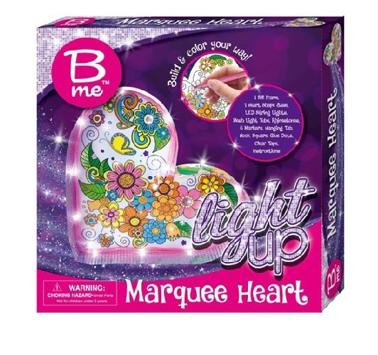 B.Me: Marquee Heart – Craft Kit