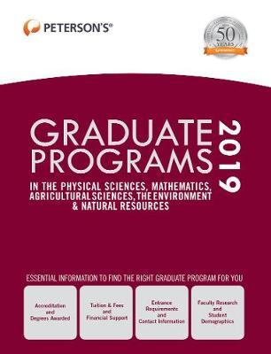 Graduate Programs in the Physical Sciences, Mathematics