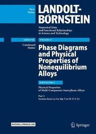 Phase Diagrams and Physical Properties of Nonequilibrium Alloys by Ursula Carow-Watamura