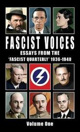 Fascist Voices by Ezra Pound