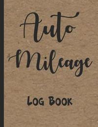 Auto Mileage Log Book by Zeezee Books image