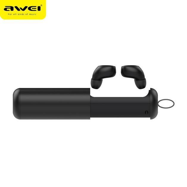 Awei: T5 TWS True Wireless Bluetooth In-ear Earphone - Black