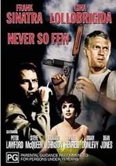 Never So Few on DVD