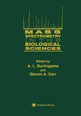Mass Spectrometry in the Biological Sciences image