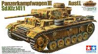Tamiya German Pz. Kpfw III Ausf. L 1/35 Model Kit