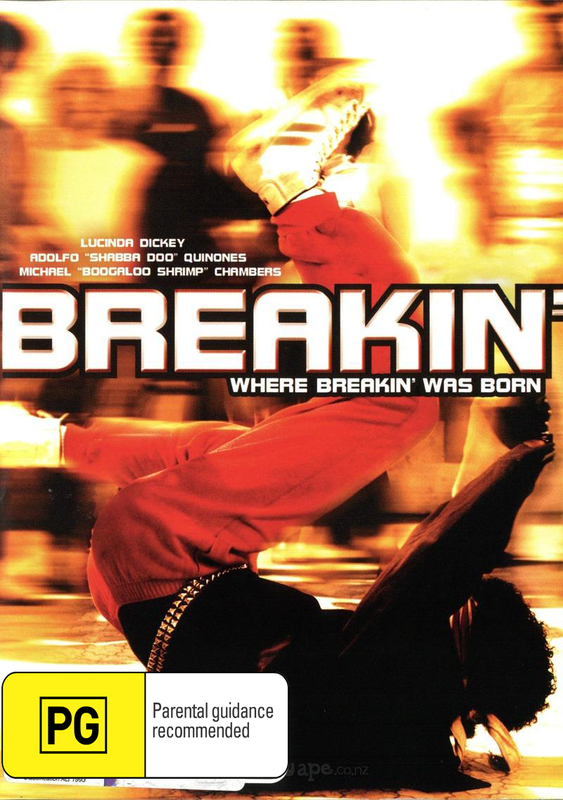 Breakdance Aka Breakin' on DVD