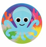 French Bull: Kids Plate - Octopus