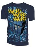 "Doctor Who: Tardis ""VWORP"" T-Shirt - Medium"