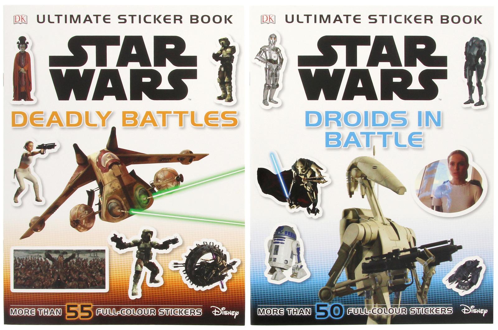 Star Wars Sticker Adventures - Boxed Set by DK image