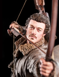 The Hobbit: Bard the Bowman - 1:6 Scale Replica Statue