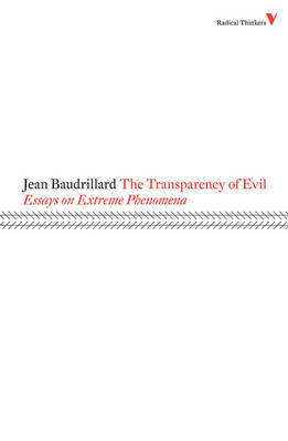 The Transparency of Evil by Jean Baudrillard image