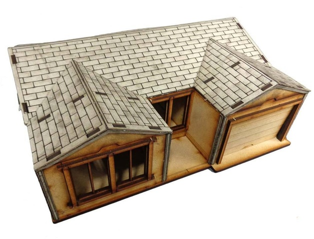 TTCombat: Tabletop Scenics - Suburban House A