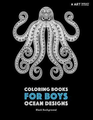 Coloring Books for Boys by Art Therapy Coloring