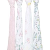 Aden + Anais: Classic Swaddle - Forest Fantasy (4 Pack) image