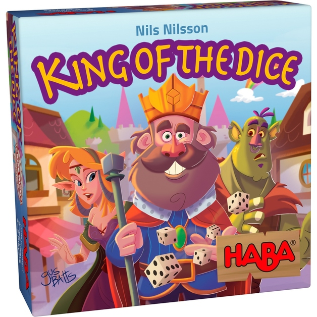 King of the Dice - Board Game