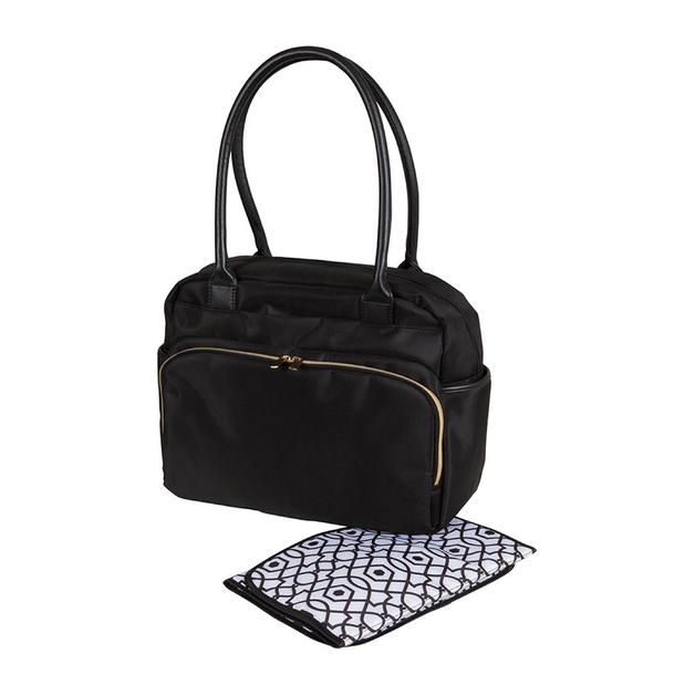 Childcare: Nappy Bag - Gold Zipper