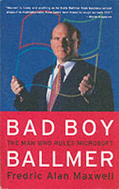 Bad Boy Ballmer by Fredric Alan Maxwell image