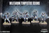 Astra Militarum Tempestus Scions / Command Squad