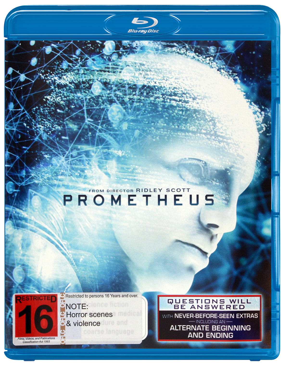 Prometheus on Blu-ray image
