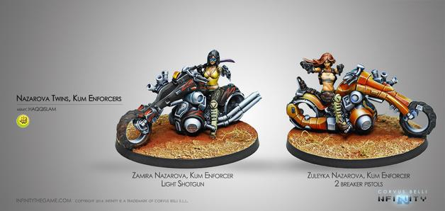 Infinity: Haqqislam - The Nazarova Twins, Kum Enforcers