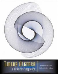 Linear Algebra: A Geometric Approach by Theodore Shifrin image