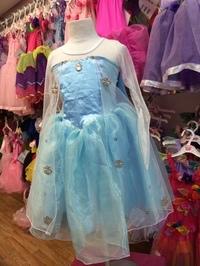 Fairy Girls - Elsa Frozen Inspired Dress (Small)