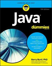 Java For Dummies by Barry A. Burd