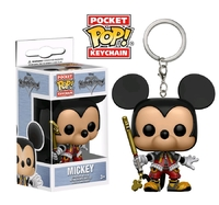 Kingdom Hearts - Mickey Pocket Pop! Keychain
