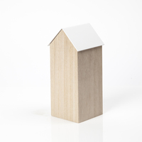 Block Design: Storage House Desk Caddy (Large White)