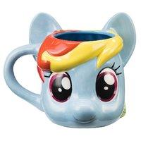 Rainbow Dash Moulded Mug