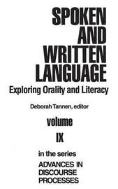 Spoken and Written Language by Deborah Tannen