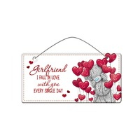 Me To You Valentines - Girlfriend Plaque
