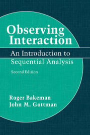 Observing Interaction by Roger Bakeman image