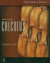 SG Multivariable Calc 6e by James Stewart