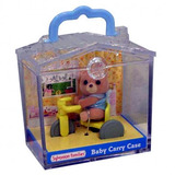 Sylvanian Families: Family Life Baby Carry Case - Bear Cub & Accessory
