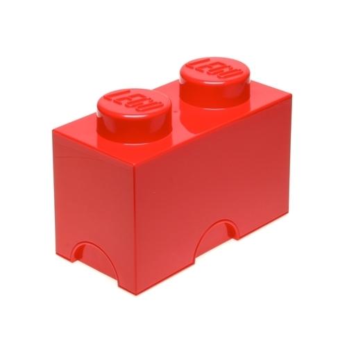 LEGO: Storage Brick 2 - Red