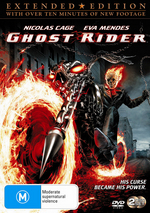 Ghost Rider on DVD
