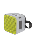 Skullcandy Barricade Mini Bluetooth Speaker - Gray/Charcoal/Hot Lime