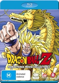 Dragon Ball Z: Remastered Movie Collection 2 (uncut) (movies 7-13) on Blu-ray