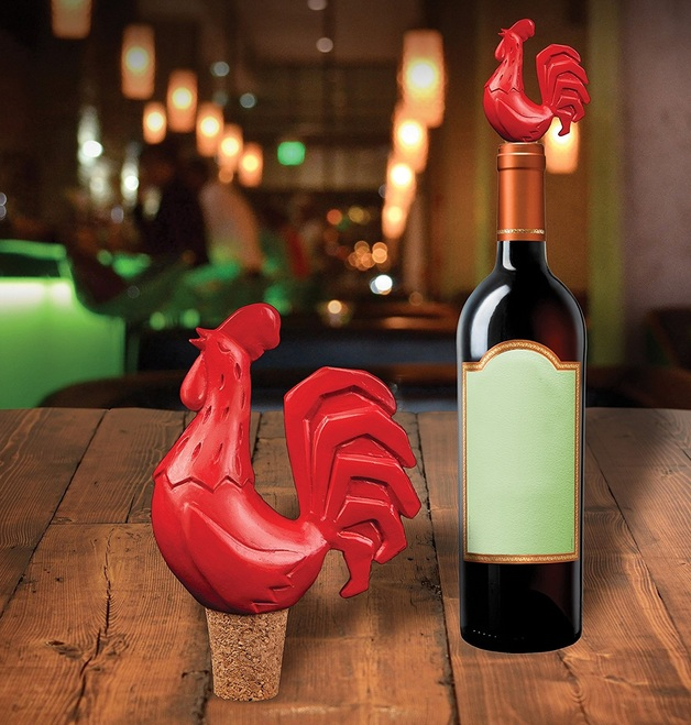Gama-Go: The Cock Blocker - Novelty Wine Stopper