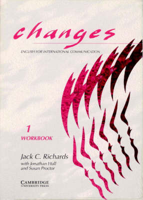Changes 1 Workbook by Jack C Richards image
