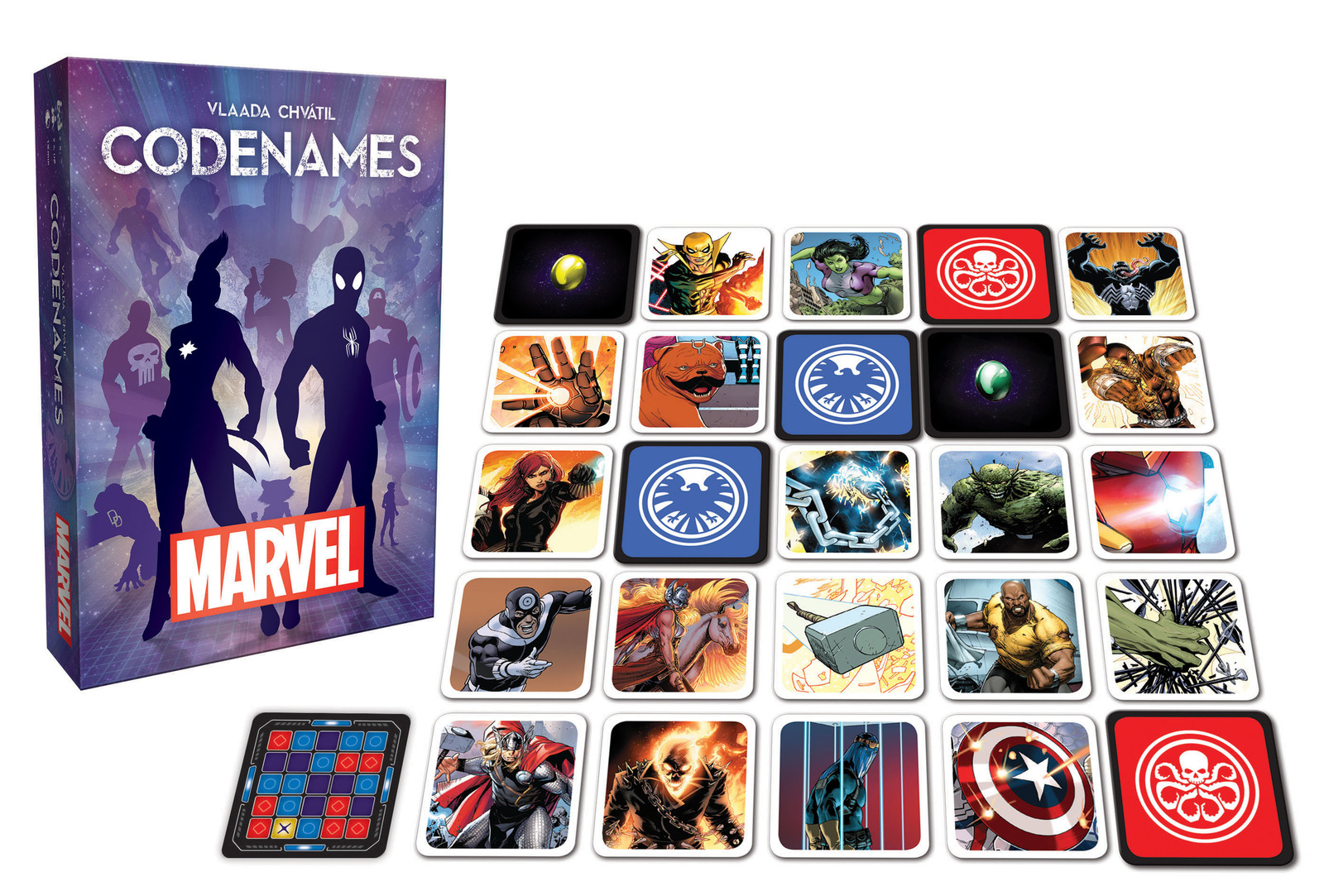 Codenames: Marvel image