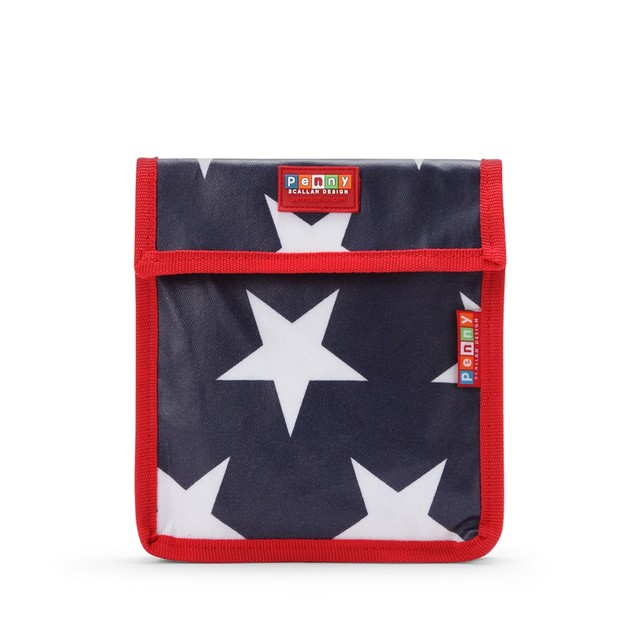 Navy Star Snack Bag