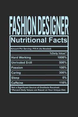 Fashion Designer Nutritional Facts by Dennex Publishing image