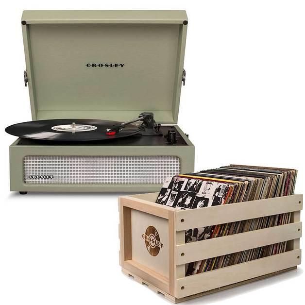 Crosley: Voyager Portable Turntable - Sage