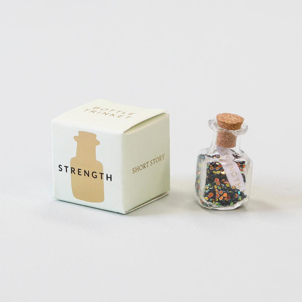 Short Story Trinket Bottle - Strength image