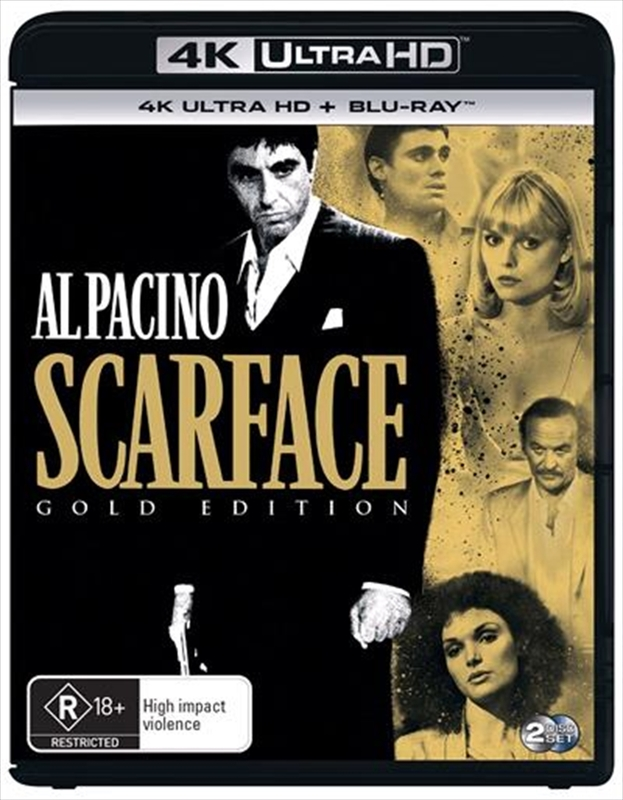 Scarface on UHD Blu-ray