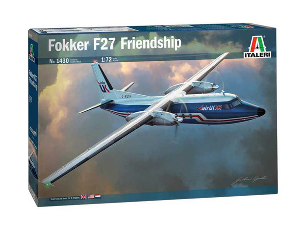 Italeri: 1/72 Fokker F 27 Friendship - Model Kit